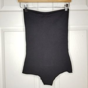 American Apparel strapless bodysuit Med